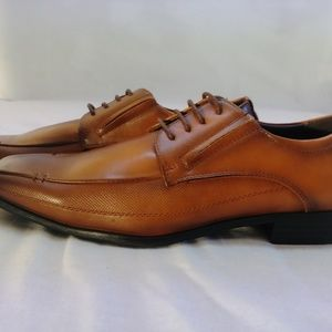 bonafini Shoes - Bonafini Loafers lace up dress shoe 11 cognac